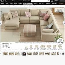 Next Sofas Clearance Best 25 Cream Corner Sofa Ideas On Pinterest Cream Sectional