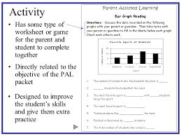parent assisted learning pal packets ppt download