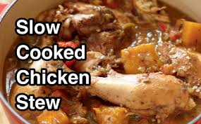 classic slow cooked chicken stew recipe youtube