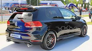 volkswagen black volkswagen golf gti black dynamic revealed