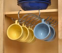 amazon com spectrum diversified under the shelf mug holder