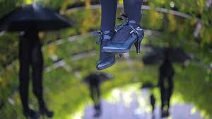 halloween legs hanging stock video footage