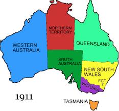 states australia map file australian states history 14 gif