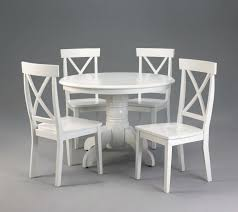 White Gloss Dining Room Table by Dining Table Round Dining Table And 6 Chairs White Round Dining