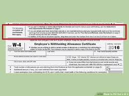 how to fill out a w u20104 with pictures wikihow