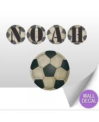 Letter Wall Decals For Nursery by Wall Letters Kids Nursery Decor Soccer Ball Alphabet Stickers