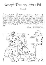 sunday joseph bible coloring pages