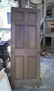 Build Wooden Bookcase by Build A Corner Bookcase Using A Door Hometalk