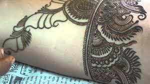 how to apply henna mehendi best wedding design on hand 2016