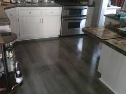 Grey Tile Laminate Flooring Kitchen Flooring Porcelain Tile Laminate Floor In Fabric Look