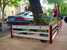 meet the greatest tree box fence in the district popville