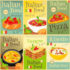 posters cuisine food posters set stock vector illustration of pasta 68386559