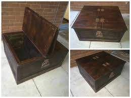 sheesham style storage chest coffee table u2022 1001 pallets