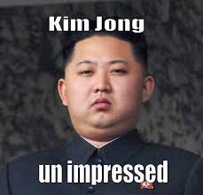 Unimpressed Meme - jong unimpressed