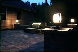 outdoor fence lighting ideas backyard string lights outdoor fence lighting solar ideas post deck