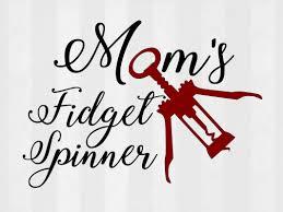 martini svg mom u0027s fidget spinner svg cutting template fidget spinner