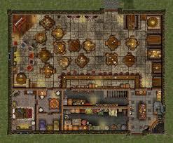 Dnd Maps Happy Harpy Tavern By Bogie Dj On Deviantart