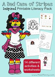 bad case of the stripes coloring page
