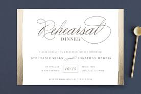 rehearsal dinner invitation golden rehearsal rehearsal dinner invitations lehan veenker