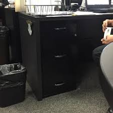File Cabinet With Drawers by 3 Drawer Accessory File Black Walmart Com