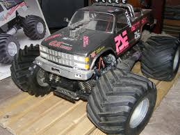 nitro monster trucks kyosho usa 1 nitro crusher 4wd classic and vintage rc cars