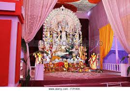 Decoration Of Durga Puja Pandal Pandal Stock Photos U0026 Pandal Stock Images Alamy