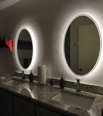 the best wall mirror design for your bathroom in elegant shape