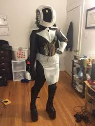 Chell Halloween Costume Portal 2 Cosplay Wheatley Chell Poor Aperture Scientist