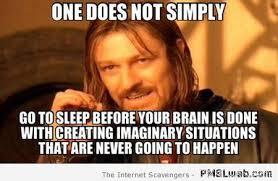 Sleep Meme - 21 one does not simply go to sleep meme pmslweb