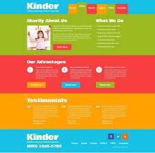 child dooris kindergarten u0026 html template fitspiration