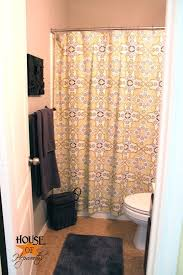 Crazy Shower Curtains I U0027m Calling The Guest Bathroom Done For Now Anyway