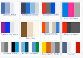 good colour schemes web design color themes simple 80 good color schemes design