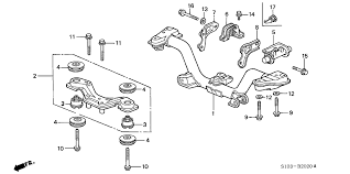 rear differential honda crv 50716 sr7 j00 genuine honda der rr differential dynamic