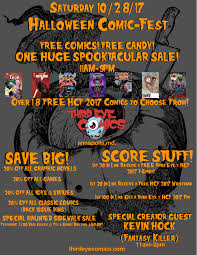 sat 10 28 17 halloween comicfest 2017 third eye comics