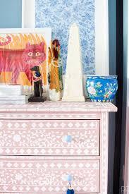 129 best indian stencils decor images on pinterest cutting diy bone inlay stencilled dresser indian inlay stencil kit from cutting edge stencils http