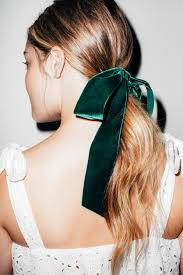 velvet bows 4 ways to style your hair using velvet bows for wedding season