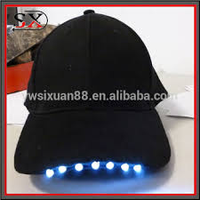 running hat with lights irish st patrick s day light up led trucker hat buy hats with led
