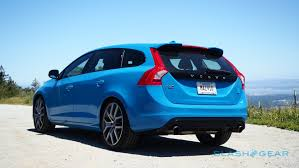 volvo hatchback 2016 2016 volvo v60 polestar t6 review u2013 swedish mettle slashgear