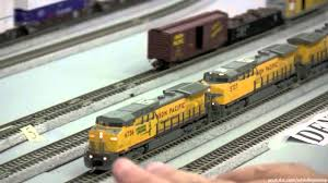 union pacific n scale garage layout