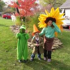 Plants Zombies Halloween Costume Kids Plants Zombies Costume Party Plants