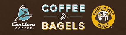 caribou coffee and einstein bros bagels join forces coffee bagels
