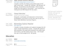 Science Teacher Resume Samples by Resume Samples Earth Science Teacher Resume Sample Science