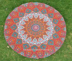 round indian handmade beach yoga mat rug hippy hippie mandala round indian handmade beach yoga mat rug hippy hippie mandala round table cloth amazon co uk kitchen home