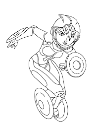 gogo tomago hero coloring pages for kids printable free big