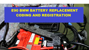 bmw e90 battery bmw e90 3 series battery replacement with registration coding