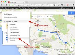 How To Map A Route On Google Maps by Life Rebooted U2013 Creating Route Maps With Openstreetmap