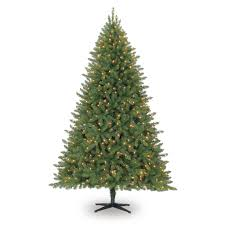 7 5 ft pre lit hamilton pine mixed artificial tree