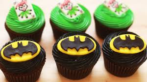 how to make batman cupcakes nerdy nummies youtube