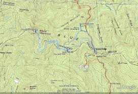 Appalachian Trail Massachusetts Map by Blood Mountain Trail