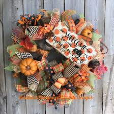 Fall Wreaths A Personal Favorite From My Etsy Shop Https Www Etsy Com Listing
